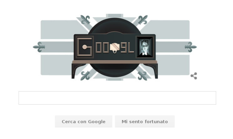 La prima televisione 90 anni fa nel Doodle di Google