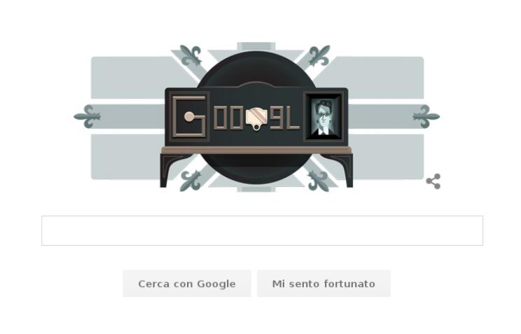 doodle google oggi televisione