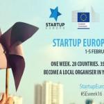 startup europe week