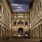 galleria uffizi firenze opere storia