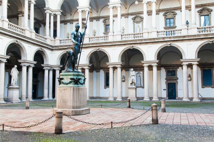 Pinacoteca Brera orari biglietti Brandburne
