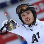 Giuliano Razzoli Slalom Kitzbuehel infortunio