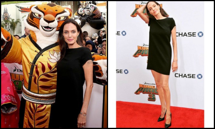 Angelina Jolie sempre più magra