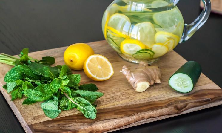 acqua di cetriolo e zenzero per dimagrire