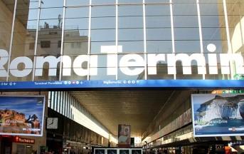 Roma, rapina alla stazione Termini: rubano il portafogli e lo pestano a sangue