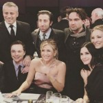 friends e the big bang theory insieme