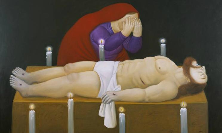 botero roma via crucis