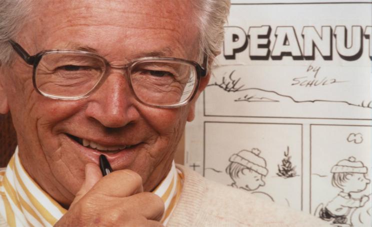 Charles Schulz Peanuts morte