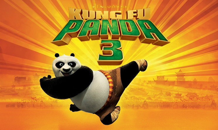 Kung Fu Panda 3 con due padri:
