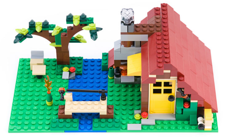 Lego primo negozio in Italia