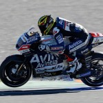incidente test Moto Gp