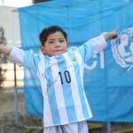 Afganistan maglia messi