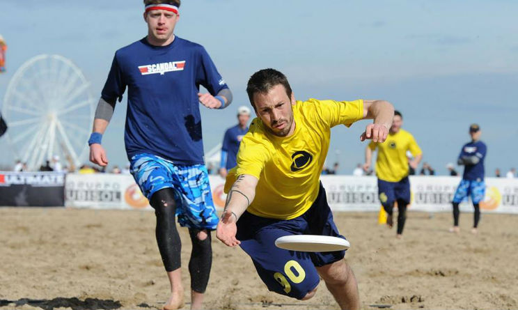 Paganello gara ultimate Rimini 2016