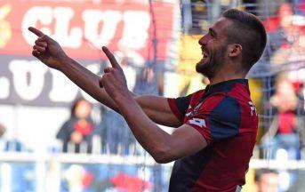 """Calciomercato Napoli, Pavoletti saluta i tifosi del Genoa: """"Capita a tutti di sbagliare"""""""