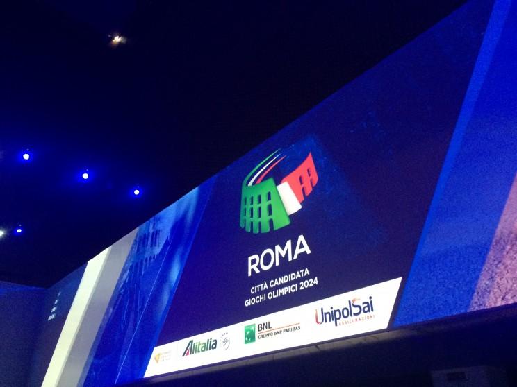 Roma 2024 candidatura Olimpiadi 2024
