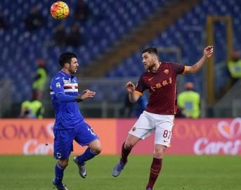 Roma – Sampdoria highlights, sintesi e video gol, risultato finale 2-1: Florenzi e Perotti stendono la Samp