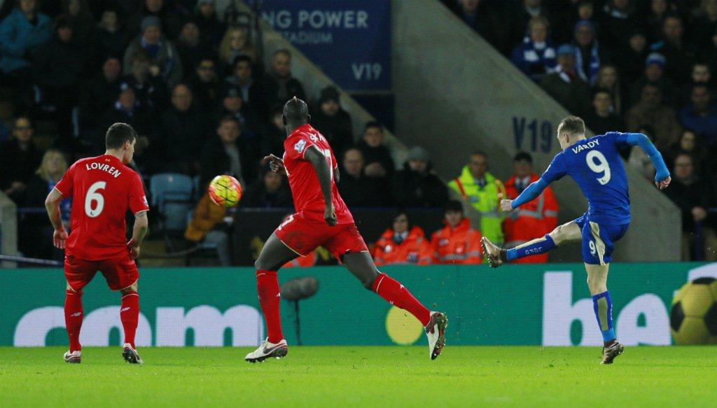 Vari Leicester-Liverpool highlights