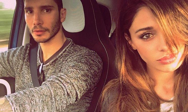 Belen e Stefano separati al compleanno di Santiago