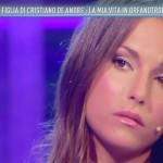 Francesca De Andrè a Domenica Live