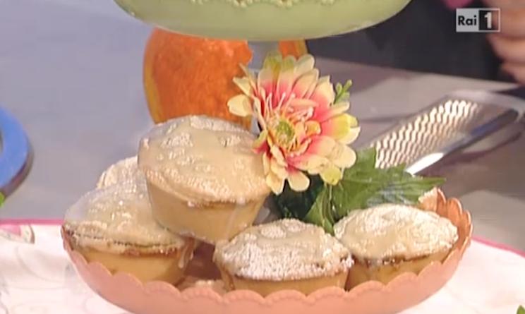 Ricette dolci ambra romani a la prova del cuoco tortine for Dolci romani