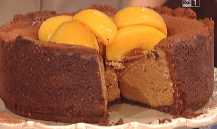 Ricette dolci la prova del cuoco torta cheesecake al for Dolci tradizionali romani