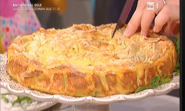 La Prova Del Cuoco Ricette Torta Arrotolata Di Crepes Salate Di