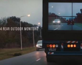 """Safety Truck Samsung: sicurezza su strada con i camion """"trasparenti"""""""