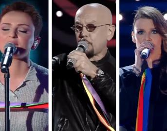 Foulard arcobaleno, Sanremo Pride: ecco perché alcuni cantanti lo avevano