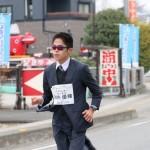 Atletica mezza maratona giacca cravatta