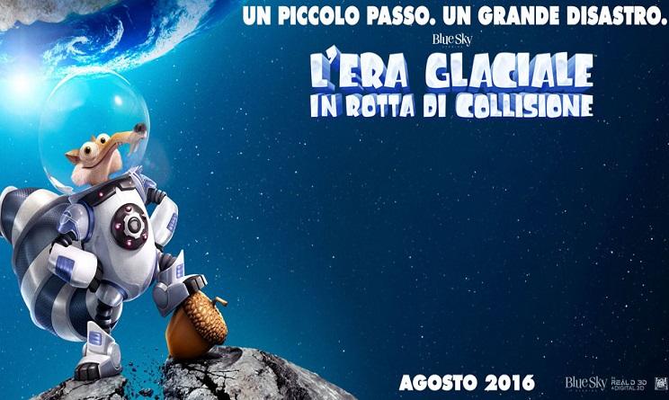 L'era glaciale 5: In rotta di collisione in 3D 2016 Film Intero