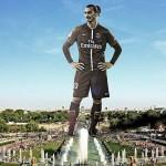 Ibrahimovic Tour Eiffel