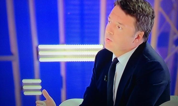 Matteo Renzi Domenica Live