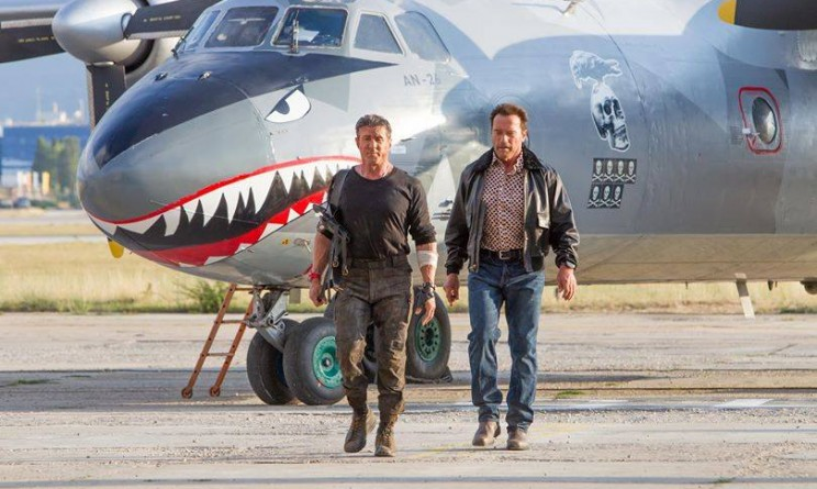 The Expendables 3 facebook