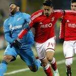 Zenit Benfica ultime news