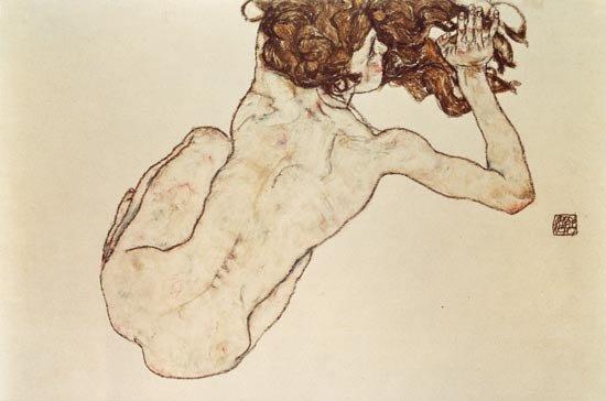 gustav klimt drawings and watercolors