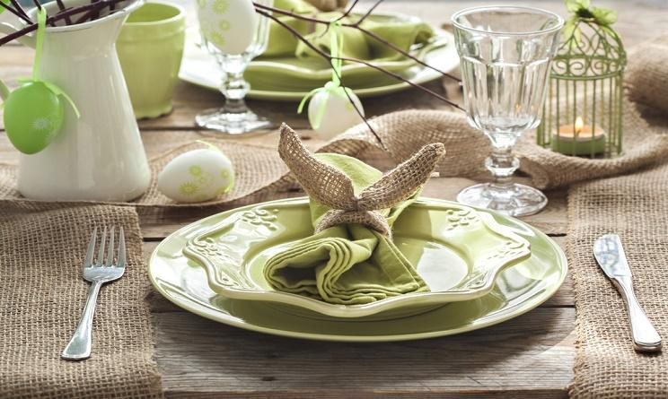 Pasqua 2016 come apparecchiare la tavola per il pranzo for Tavola da pranzo