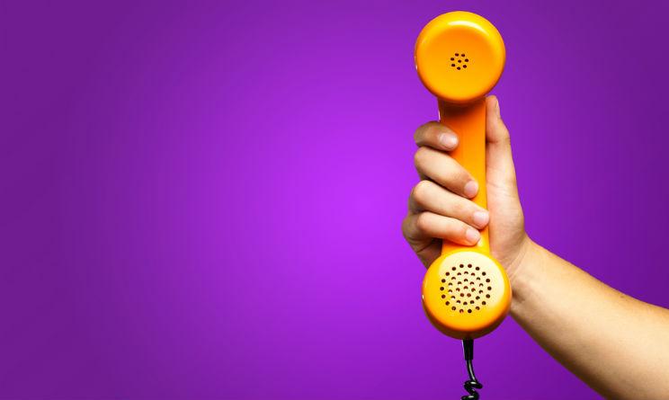 Imprenditori in crisi aiuto con telefono arancione