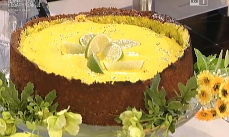 Ricette dolci la prova del cuoco torta al lime di ambra for Dolci tradizionali romani