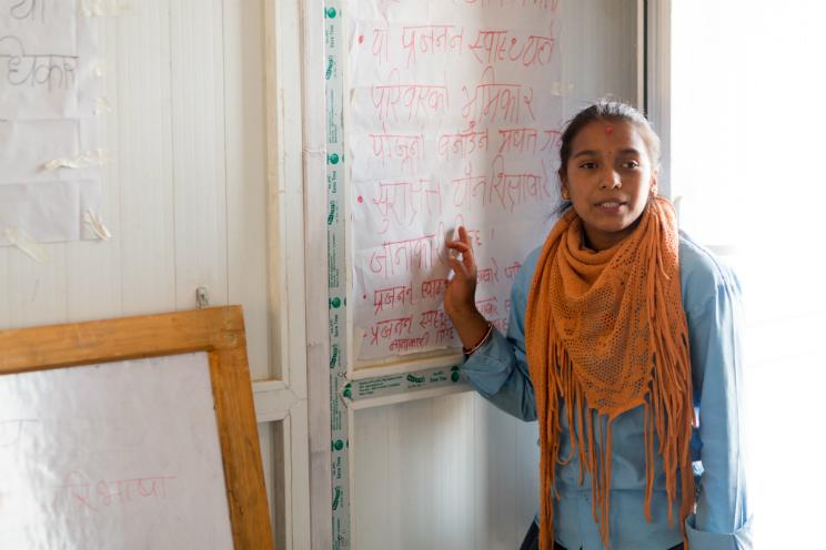 nepal terremoto plan international