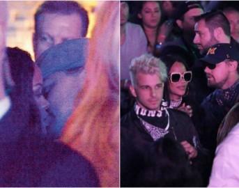 Rihanna Leonardo Di Caprio, la prova del loro amore? Ecco il bacio incriminato