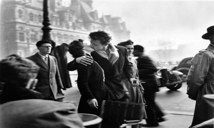 Doisneau Il bacio dell'Hotel de Ville