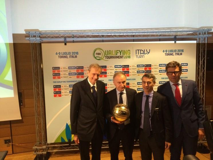 Torneo Preolimpico basket Torino