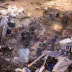 Tenerife palazzina crollata