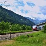 Treno nelle Dolomiti 2016
