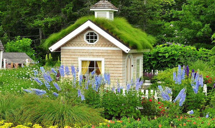 donne case da giardino