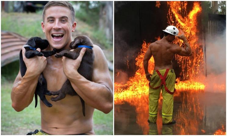 Calendario Pompieri.Calendario Pompieri Australiani Scatti Bollenti Per Aiutare