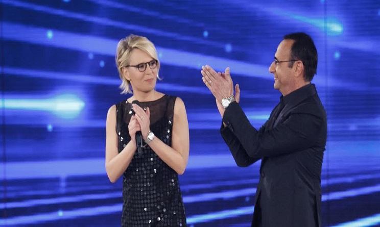 Festival di Sanremo 2017 Carlo Conti e Maria De Filippi come vestiranno