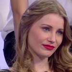 Andrea Dante la corteggiatrice Claudia Pintilei