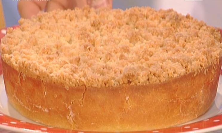 La prova del cuoco ricette della domenica la crostata di for Ricette della prova del cuoco