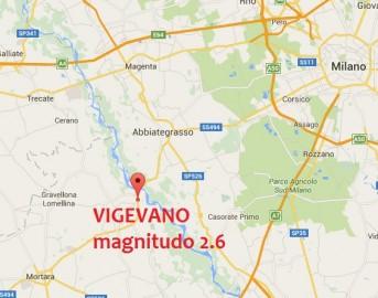 Terremoto oggi a Pavia, scossa magnitudo 2.6 nei pressi di Vigevano
